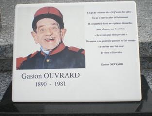 Ouvrard gaston 1890 1981 cimeti res de france et d 39 ailleurs - Gaston ouvrard je ne suis pas bien portant ...