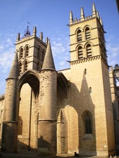 Montpellier 34 cath drale saint pierre cimeti res de france et d 39 ailleurs - Cathedrale saint pierre de montpellier ...