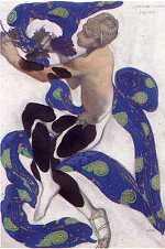 Bakst léon (lev samoïlovitch rosenberg : 1866-1924)