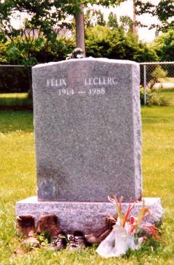 [Canada] - Espace Félix Leclerc St Laurent-de-L'Ile d'Orléans Leclerc_findagrave